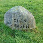 Gedenkstein des Clan Fraser auf dem Schlachtfeld von Culloden