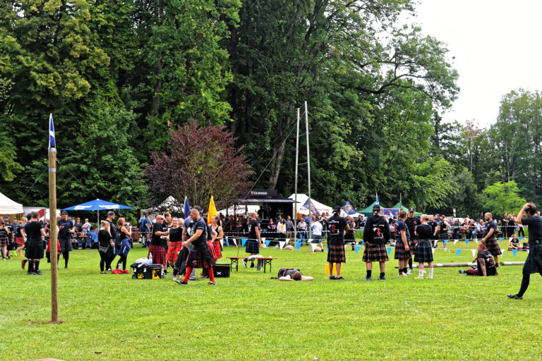Highland Games Angelbachtal 2019 - Der 1. Tag