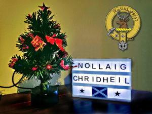 Frohe Weihnachten - Nollaig chridheil