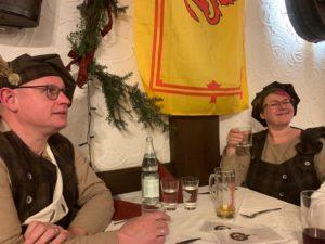 St. Andrews Day 2019 bei der German Clan Gregor Society