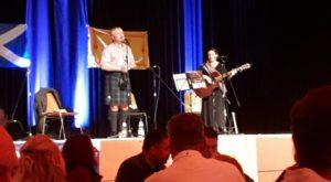 Burns Supper Schottland Vereinigung Erbach